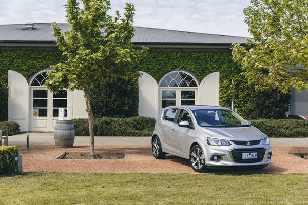 "Barina LT (pictured here) has 17"" alloy wheels, while the lower spec LS has gone from 15"" to 16""."