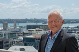 With Michael Barnett (Auckland Chamber of Commerce)