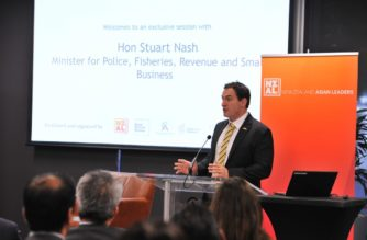 Small Business Minister Stuart Nash.  Photo NZ Asian Leaders