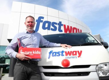 Fastway Couriers chief executive Scott Jenyns.