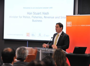 Small Business Minister Stuart Nash.  Photo NZ Asian Leaders