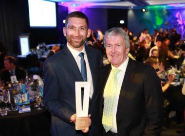 Volpara CIO Gareth Beaumont with Minister Damien O'Connor.