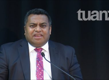 Commerce and Consumer Affairs Minister Kris Faafoi. Photo YouTube