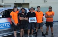BCITO apprentices in Mt Maunganui. Photo BCITO