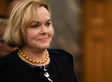 National Party leader Judith Collins. Photo RNZ - Samuel Rillstone