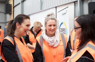 """""""Flexi-wage is an important plank of our economic recovery plan,"""" Prime Minister Jacinda Ardern (left) said."""